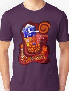 Versophomus V3 - abstract digital artwork T-Shirt
