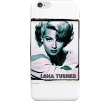 Lana Turner Hollywood Actress iPhone Case/Skin