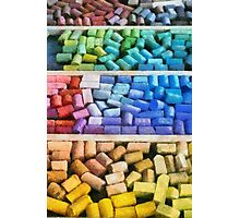 Colorful Pastels Photographic Print