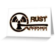 Rust Old Fashion Greeting Card
