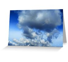 Sky - puffy clouds (2016) Greeting Card