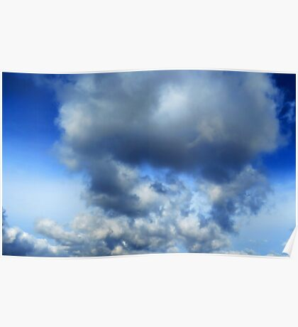 Sky - puffy clouds (2016) Poster