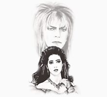 Sarah and Jareth ~ The Goblin King Unisex T-Shirt