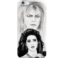Sarah and Jareth ~ The Goblin King iPhone Case/Skin