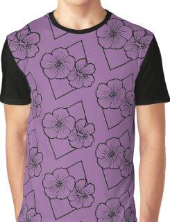 Geo-Flowers  Graphic T-Shirt