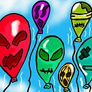 monster balloons  by StuartBoyd