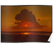 Red Sunset On The Dnieper , Arkhip Ivanovich Kuindzhi 2 Poster