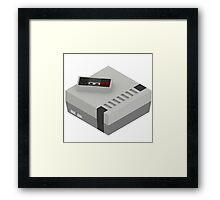 NES & Controller Framed Print