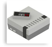 NES & Controller Canvas Print