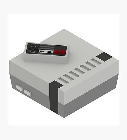 NES & Controller Photographic Print
