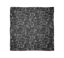 Klimt Pattern - Monochrome Scarf