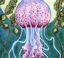Whimsy - Jellyfish Mermaid Sticker