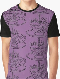 Two for Tea Graphic T-Shirt