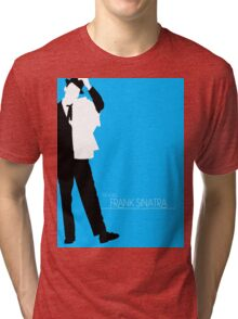 The Voice: Frank Sinatra Tri-blend T-Shirt
