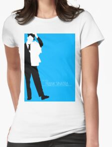The Voice: Frank Sinatra Womens Fitted T-Shirt