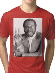 Peace from Curtis Mayfield Tri-blend T-Shirt