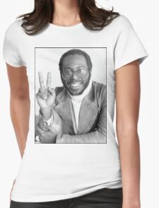 Peace from Curtis Mayfield Womens Fitted T-Shirt
