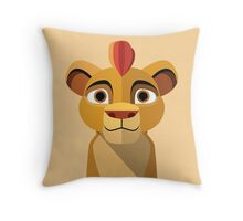 Leader of the Lion Guard Throw Pillow