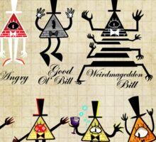 Bill Cipher Statistics. Sticker