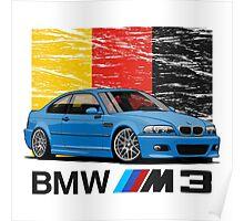 BMW M3 E46 Poster