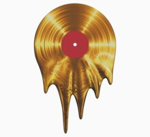 Melting vinyl GOLD Kids Clothes