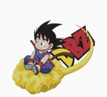 GOKU AND HIS CLOUD  One Piece - Long Sleeve