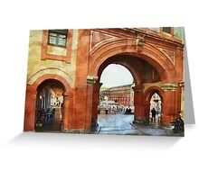 Plaza de la Corredera Greeting Card