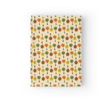 Trees in the Beginning of Sweater Weather Hardcover Journal