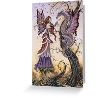 The Dragon Charmer Greeting Card