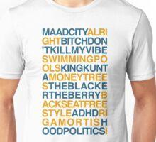 Kendrick Lamar Songs Unisex T-Shirt