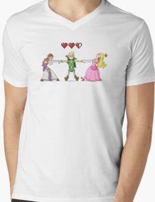Missing Link Mens V-Neck T-Shirt