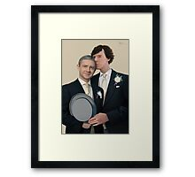 The Sign of Two Framed Print