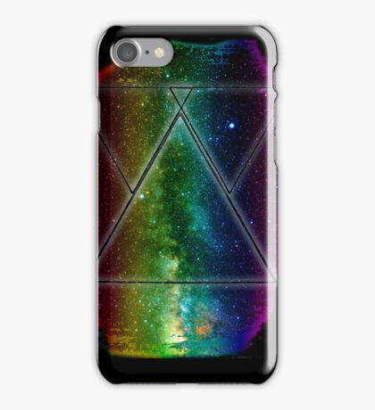 Hipster Galaxy Triangles iPhone Case/Skin