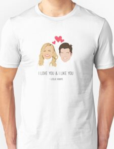 Leslie Knope Loves Ben Wyatt T-Shirt