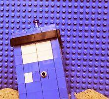 Lego TARDIS - colorized version by ClassyManPro