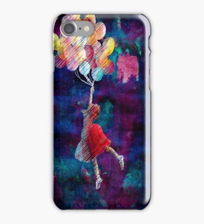 flying through the galaxy  iPhone Case/Skin