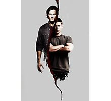 Superantural Winchester Sam Dean Image Photographic Print