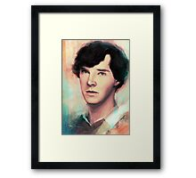 Young Sherlock Framed Print