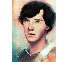 Young Sherlock Photographic Print