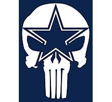 Dallas Cowboys Punisher Photographic Print