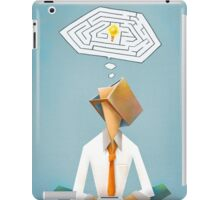 """Solution"" Tomek Biniek iPad Case/Skin"