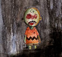 you're a zombie Charlie Brown by byronrempel