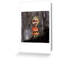 you're a zombie Charlie Brown Greeting Card