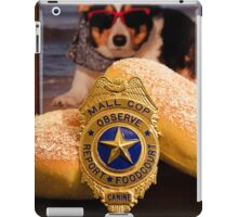 Mall Cop Recognition iPad Case/Skin