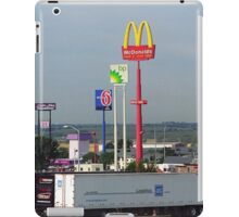 Lincoln, Nebraska - Trucks, Gas and Motels iPad Case/Skin