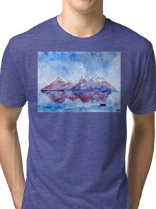 winter highlands - scotland Tri-blend T-Shirt