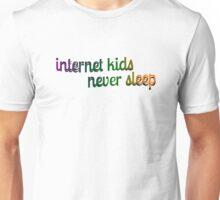 INTENER KIDS NEVER SLEEP Unisex T-Shirt