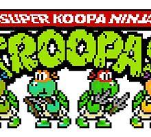 Super Koopa Ninja Troopas by DopePixel