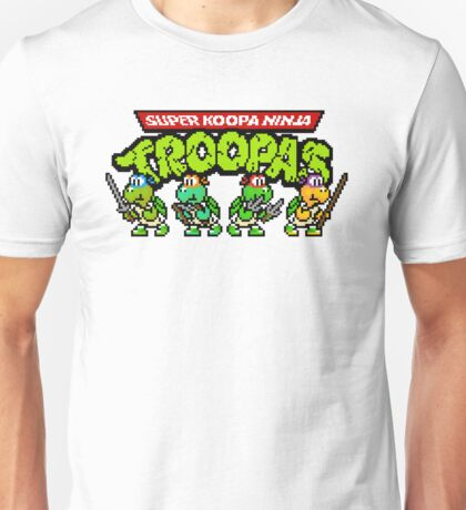 Super Koopa Ninja Troopas Unisex T-Shirt