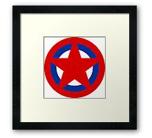 Soviet Air Forces Roundel Framed Print